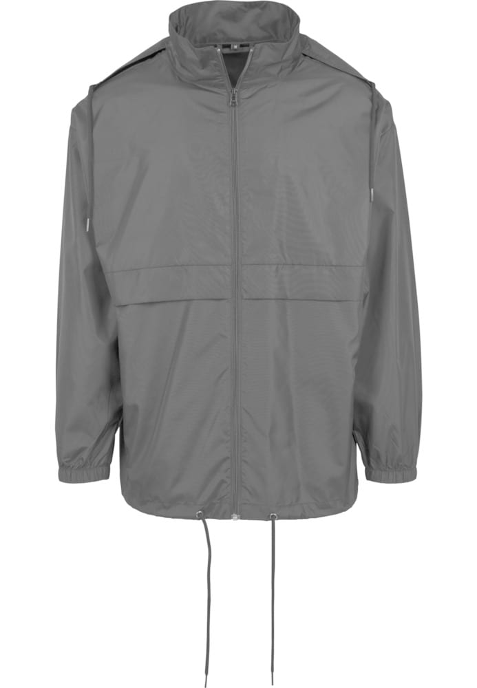 Build Your Brand BY078 - Nylon Windbreaker