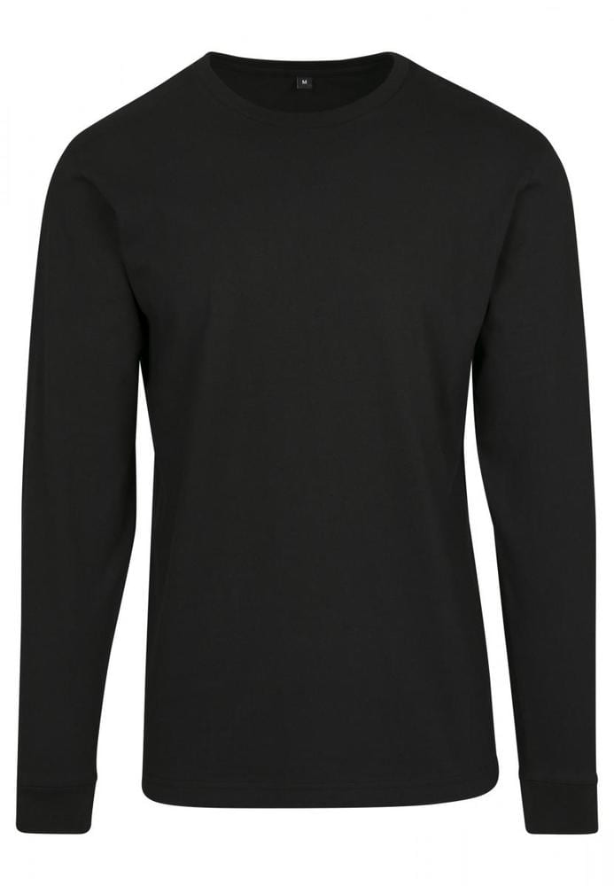 Build Your Brand BY091 - Longsleeve With Cuffrib