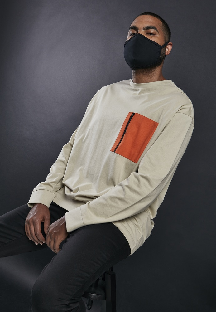 Build Your Brand BY140 - Paquete de 10 mascarillas de algodón