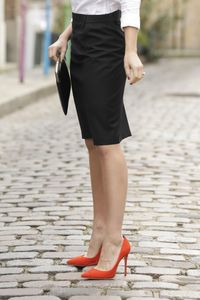 NEOBLU 03168 - Straight Skirt Constance