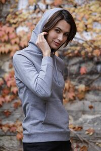 NEOBLU 03197 -Womens French Terry Hooded Sweatshirt Nicholas Women