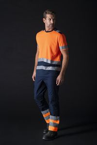 Tricorp T01 - T-Shirt High Vis Bicolor Tee-shirt unisex