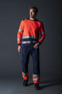Tricorp T40 - Sweater High Vis Bicolor Sweatshirt unisex
