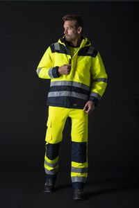 Tricorp T51 - Midi Parka High Vis Bicolor Work Jacket unisex