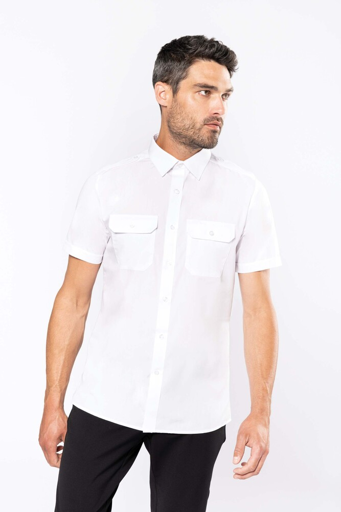 Kariban K503C - Men's short-sleeved pilot shirt
