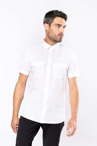 Kariban K503C - Mens short-sleeved pilot shirt