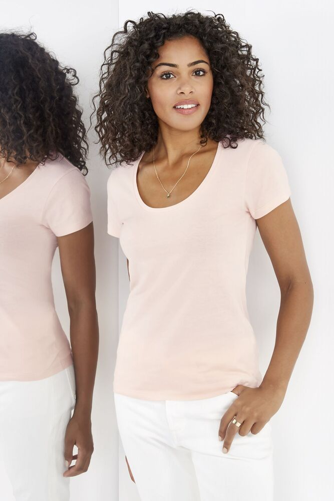 Sol's 02079C - Women's Low Cut Round Neck T Shirt Metropolitan
