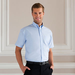 Russell Collection R-933M-0C - Oxford Shirt