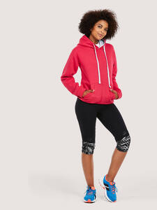 Uneek Clothing UC507C - Contrast Hooded Sweatshirt