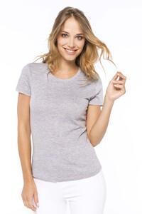 Kariban K389C - Ladies short-sleeved crew neck T-shirt