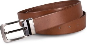 K-up KP808 - Classic leather belt - 35 mm