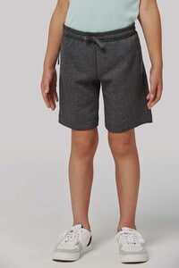Proact PA1023 - Kids fleece multisport bermuda shorts