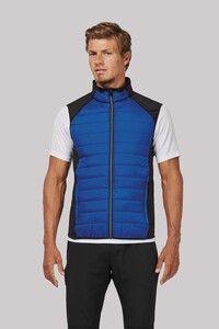 Proact PA235 - Dual-fabric sleeveless sports jacket
