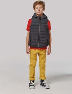 Proact PA238 - Kids hooded bodywarmer