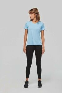 Proact PA477 - Ladies' V-neck short-sleeved sports T-shirt