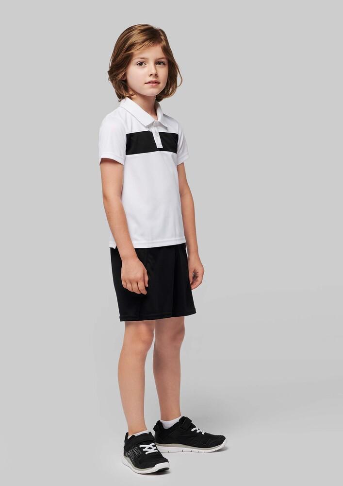 Proact PA494 - Kids' short-sleeved polo-shirt