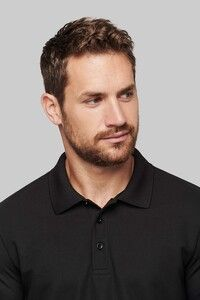 Proact PA495 - Adult Cool Plus® long-sleeved polo shirt