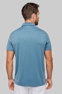Proact PA496 - Adult short-sleeved marl polo shirt