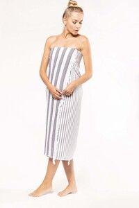 Kariban K132 - Striped fringed fouta