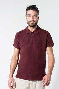 Kariban K209 - Mens organic piqué short-sleeved polo shirt