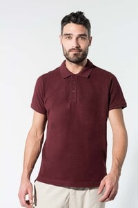 Kariban K209 - Mens organic piqué short-sleeved polo shirt