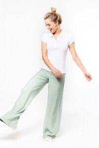 Kariban K210 - Damen Kurzarm Piqué Poloshirt Bio-Baumwolle