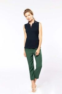 Kariban K224 - Ladies sleeveless polo shirt