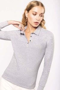 Kariban K265 - Ladies long sleeve jersey polo shirt