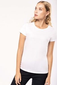 Kariban K3001 - Dames-t-shirt Supima® ronde hals korte mouwen