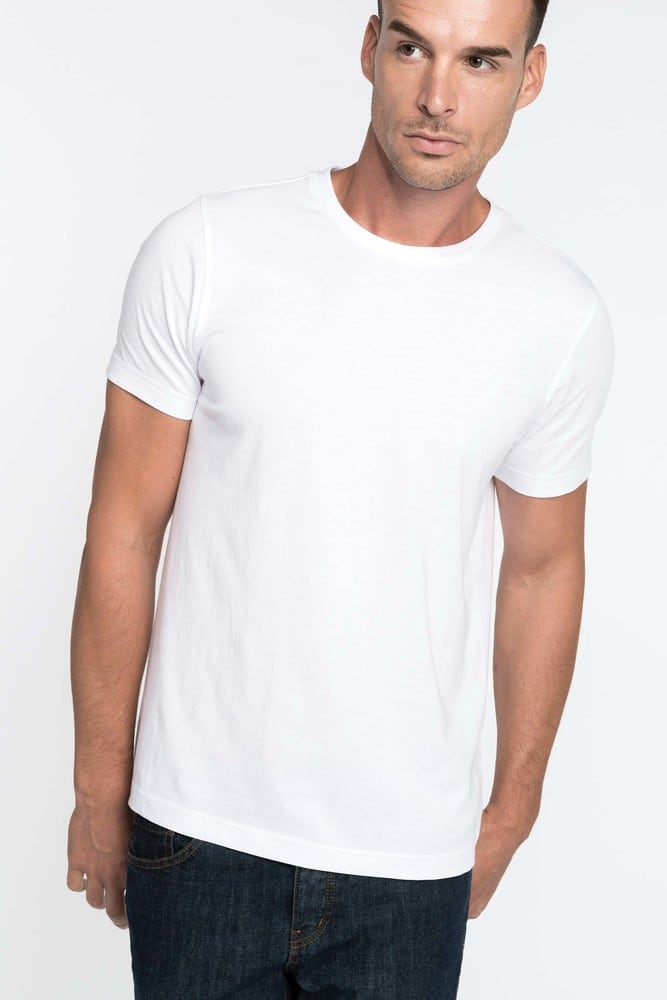 Kariban K369 T Shirt col rond manches courtes homme