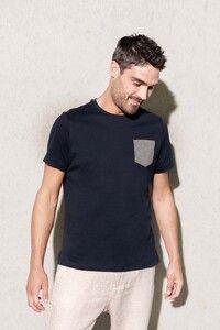 Kariban K375 - T-Shirt aus Bio-Baumwolle mit Brusttasche