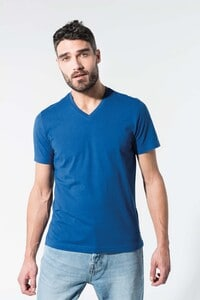 Kariban K376 - Mens organic cotton V-neck T-shirt