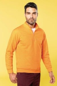 Kariban K478 - Zip neck sweatshirt