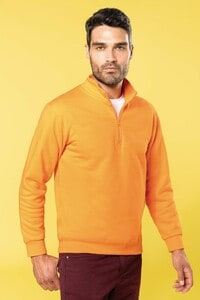Kariban K478 - Sweat-shirt col zippé