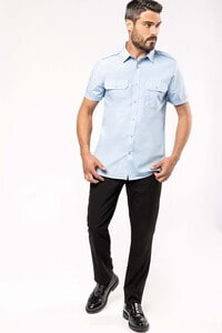Kariban K503 - Mens short-sleeved pilot shirt