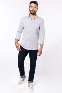 Kariban K508 - Piqué overhemd lange mouwen