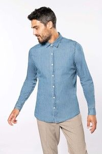 Kariban K512 - Men's denim shirt