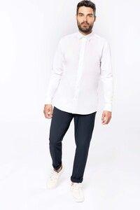 Kariban K513 - Langärmeliges Popeline-Herrenhemd