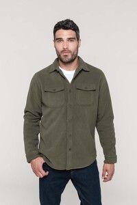 Kariban K582 - Overhemd van fleece met sherpavoering