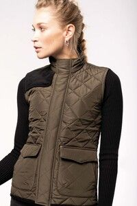 Kariban K6125 - Ladies' quilted bodywarmer