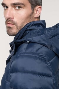 Kariban K6128 - Parka ligera acolchada con capucha para hombre