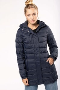 Kariban K6129 - Ladies lightweight hooded padded parka