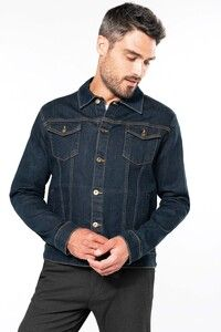 Kariban K6136 - Men's unlined denim jacket
