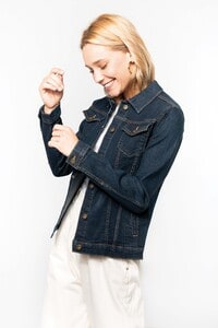Kariban K6137 - Ladies' unlined denim jacket
