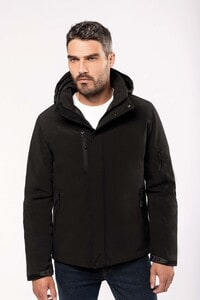 Kariban K650 - Mens hooded softshell lined parka