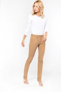 Kariban K741 - Ladies' chino trousers