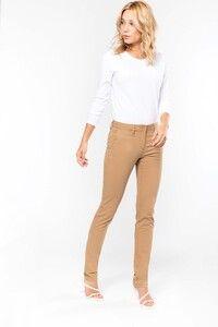 Kariban K741 - Pantaloni Chino donna