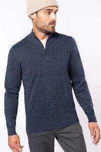 Kariban K983 - Premium button neck jumper
