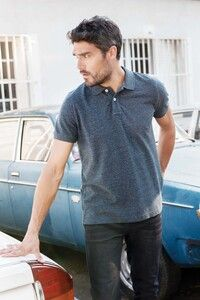Kariban KV2206 - Mens vintage short sleeve polo shirt