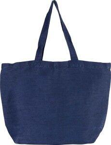 Kimood KI0231 - Grand sac en juco avec doublure intérieure